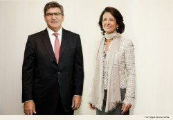 Jose Antonio Alvarez and Ana Botin