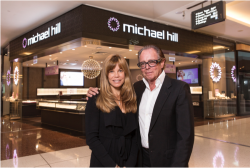 Emma Hill and her father, Michael Hill, founder of Michael Hill International