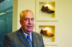 Roger Pedder, former chairman of Clarks shoes