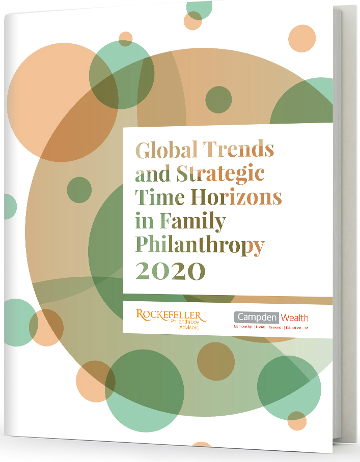 Global Trends and Strategic Time Horizons in Family Philanthropy 2020